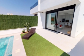 New Build - Semi-detached Villa - San Javier - Los Alcazares